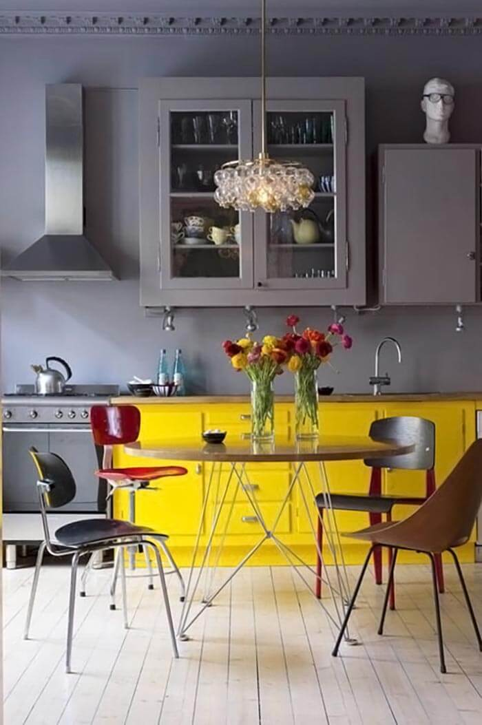 Bold Colors In Interiors