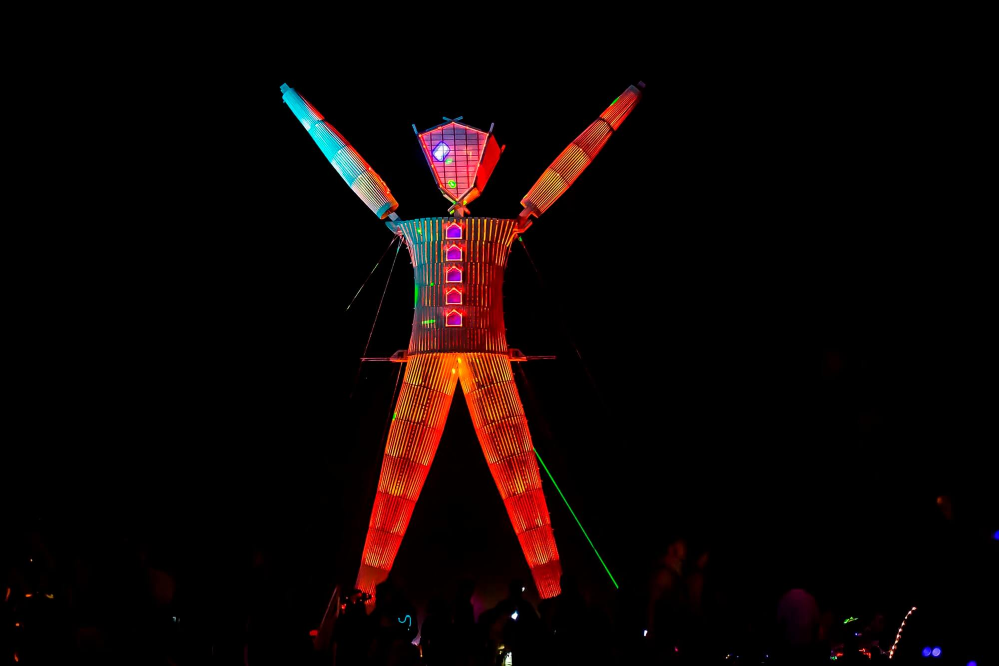 Burning Man festival 2017