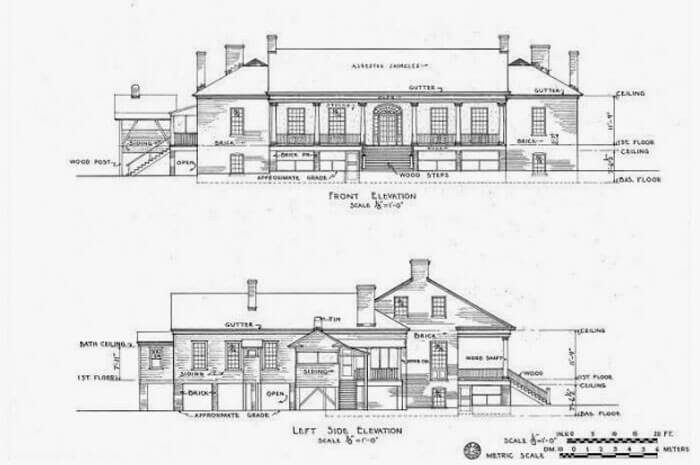 Elevation detailed drawings