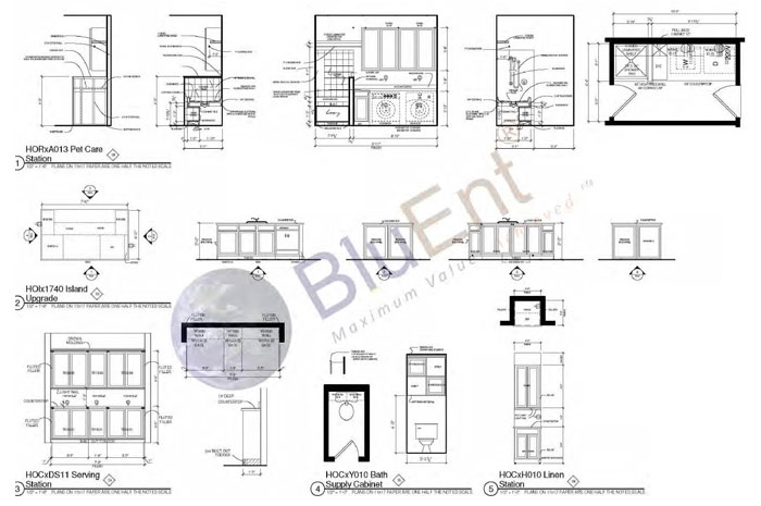 Architectural construction drawing 3