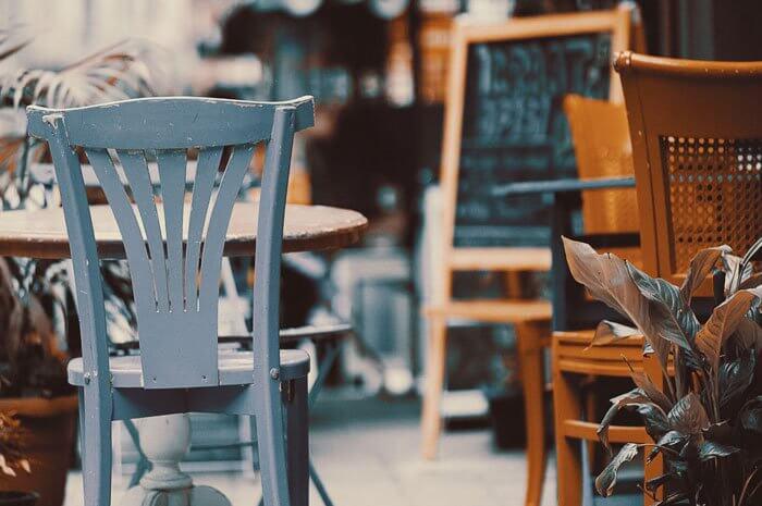 Furniture in restaurant