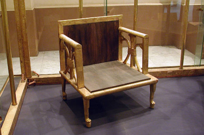 Early egyptian chair