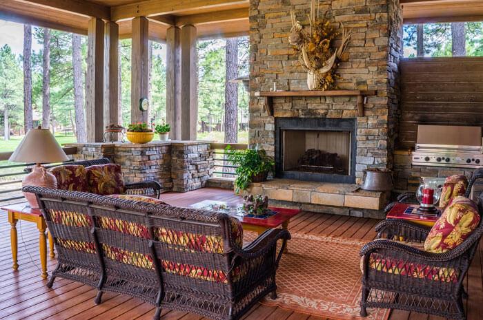 Fireplace design house