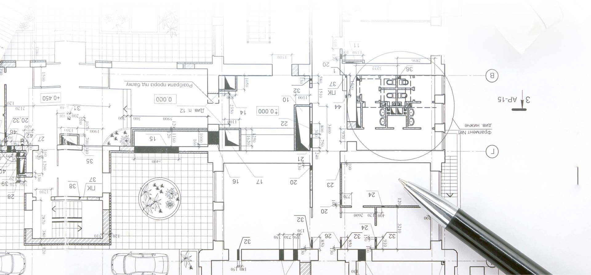 interior construction drawing