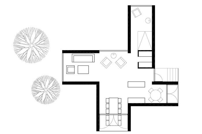 Minimalist House Drafting