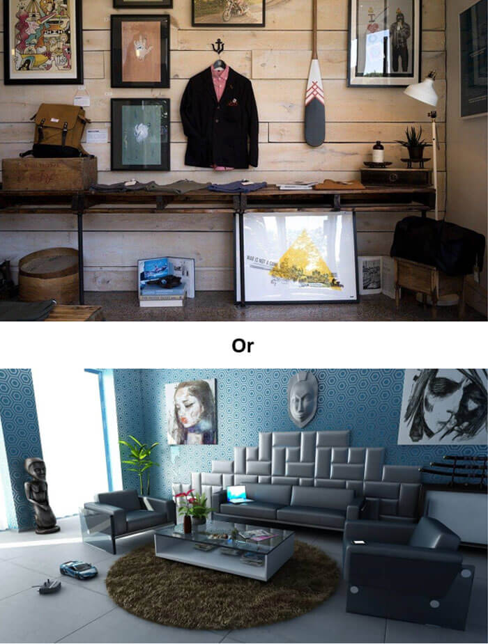 Mistakes in interior design