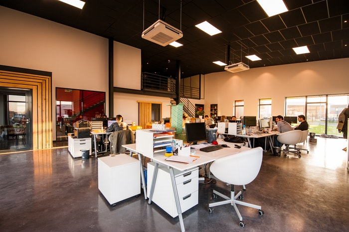 Office Space With Millwork Engineering