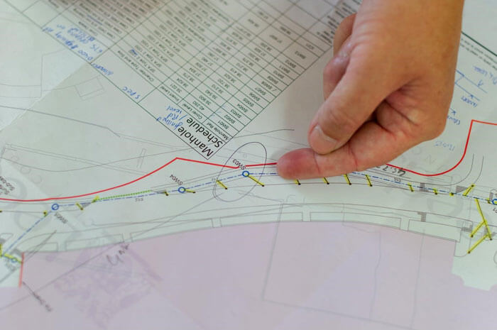 Site analysis architecture
