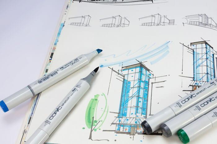 Sketch marker