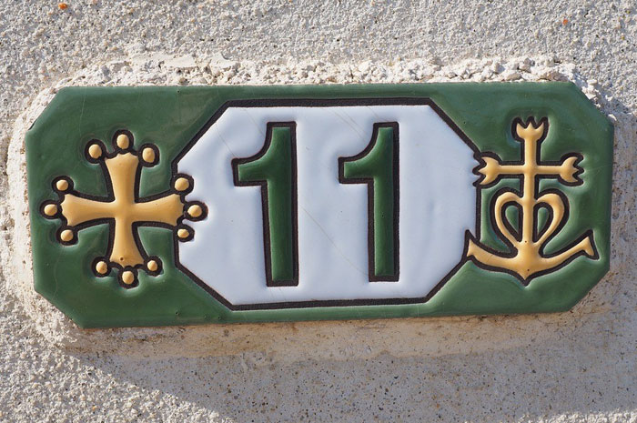 Unique house name number