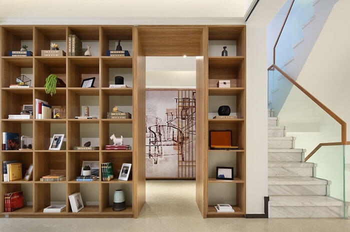 Built-In Design and Hidden Architectural Detailing